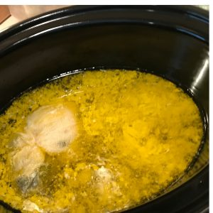 making cannabutter crockpot